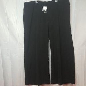 NWT!Lane Bryant black pants womens plus size 26
